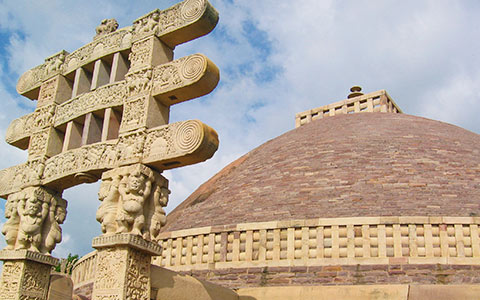 Message-board_sanchi-stupa