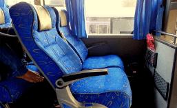 bus seat image