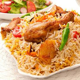 Malabari Chicken Biryani