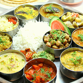 Executive Veg Thali