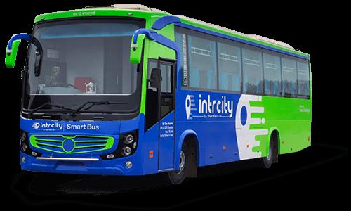 IntrCity SmartBus RailYatri Bus