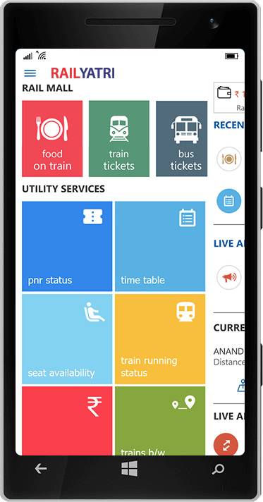 Indian Railway Information App for PNR Status & Train Status - Railyatri