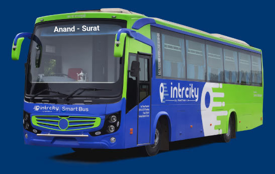 Anand to Surat Bus