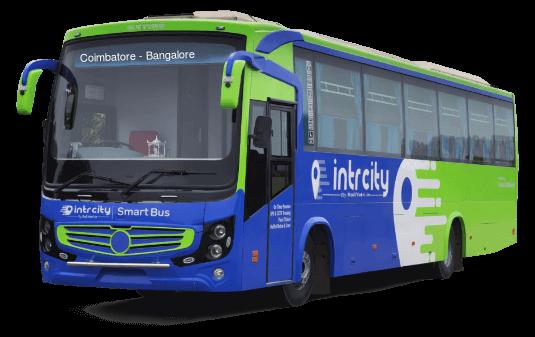Coimbatore to Bangalore (Bengaluru) Bus
