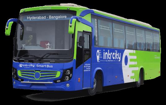Hyderabad to Bangalore (Bengaluru) Bus