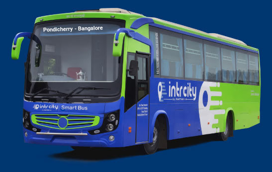 Pondicherry to Bangalore (Bengaluru) Bus