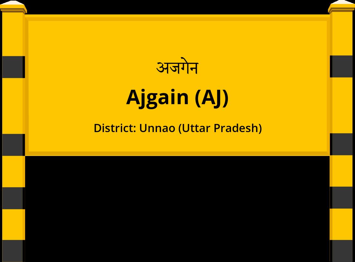 Ajgain (AJ) Railway Station