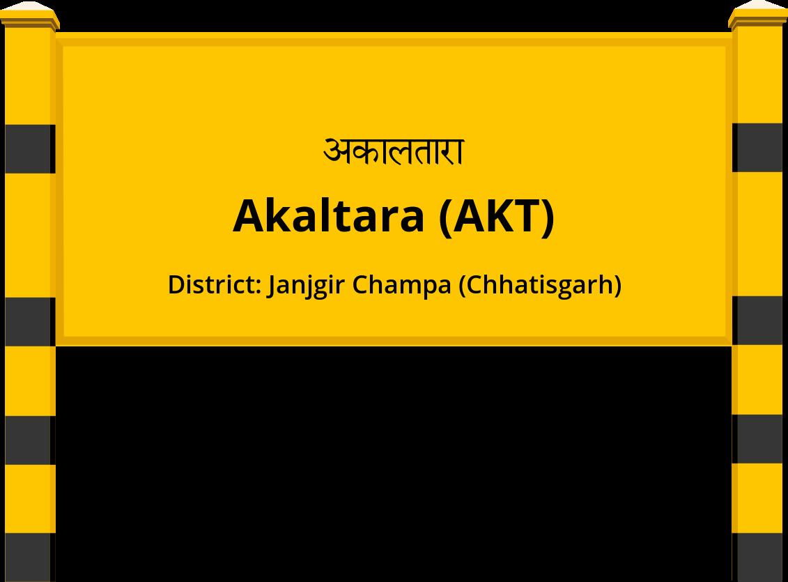 Akaltara (AKT) Railway Station