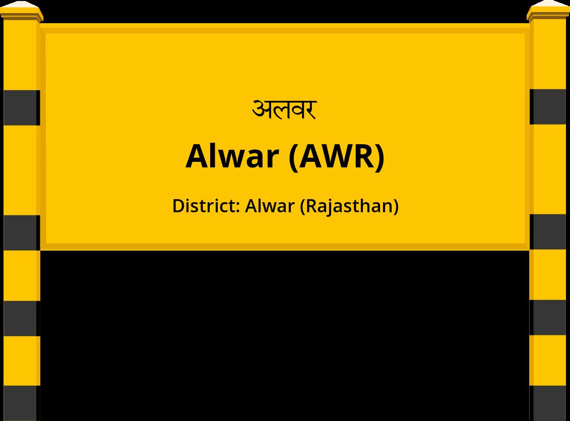 Alwar (AWR) Railway Station