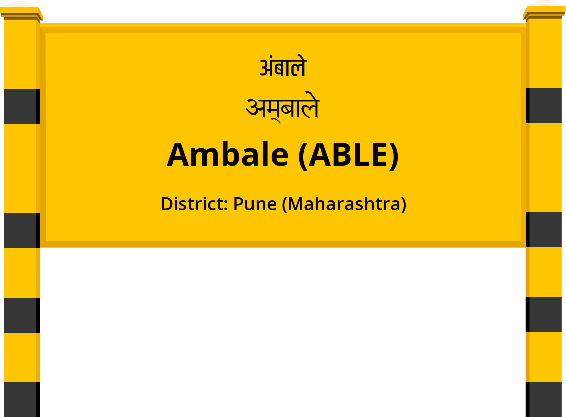 Ambale (ABLE) Railway Station