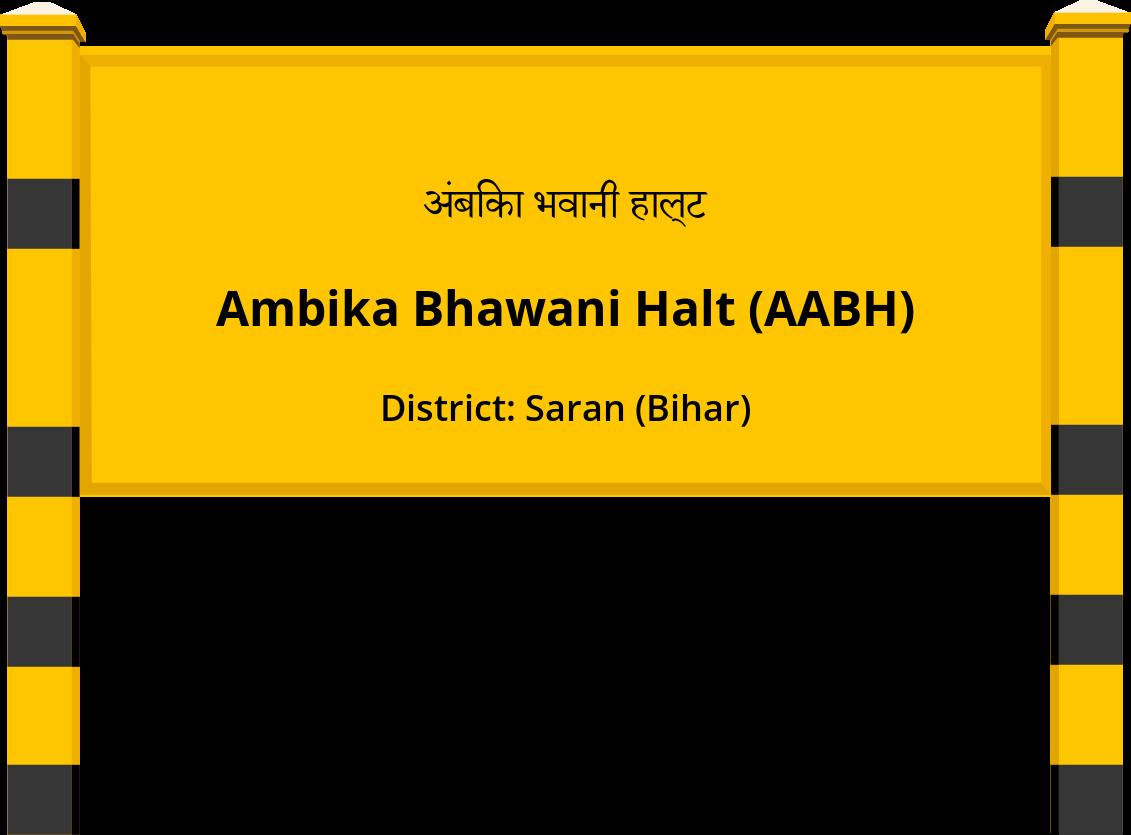 Ambika Bhawani Halt (AABH) Railway Station