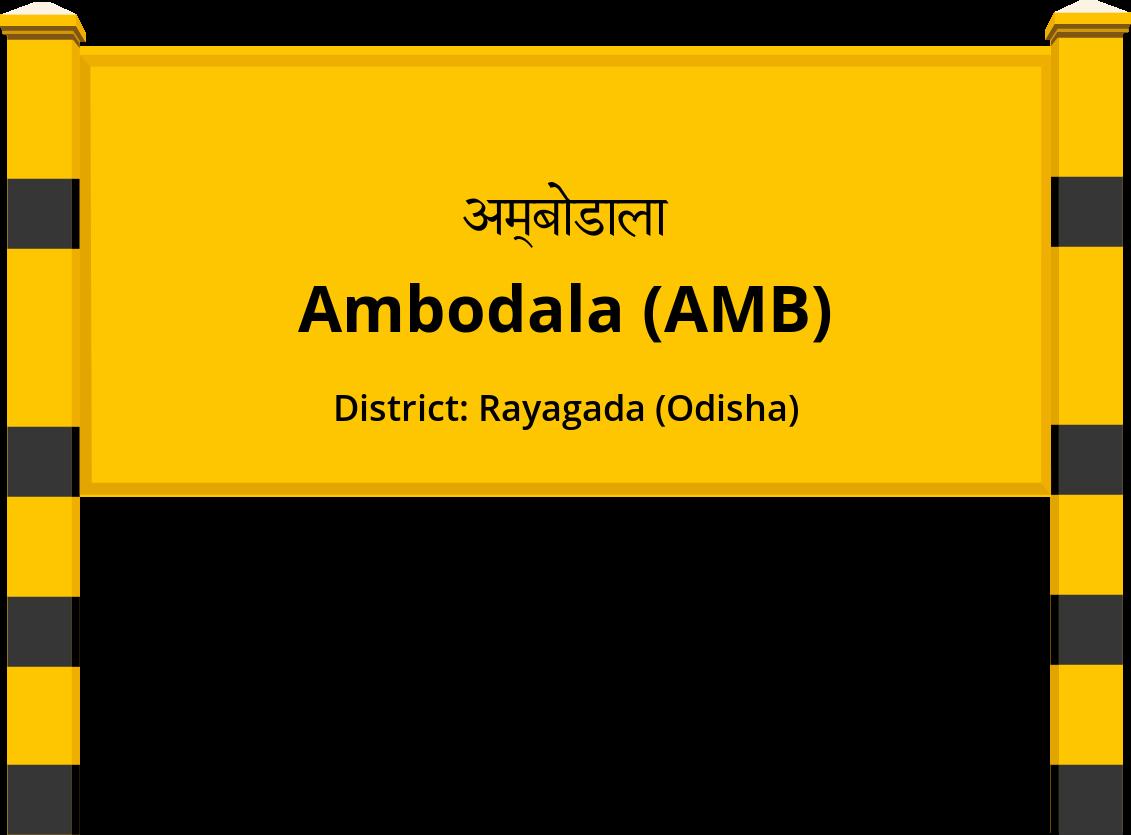 Ambodala (AMB) Railway Station