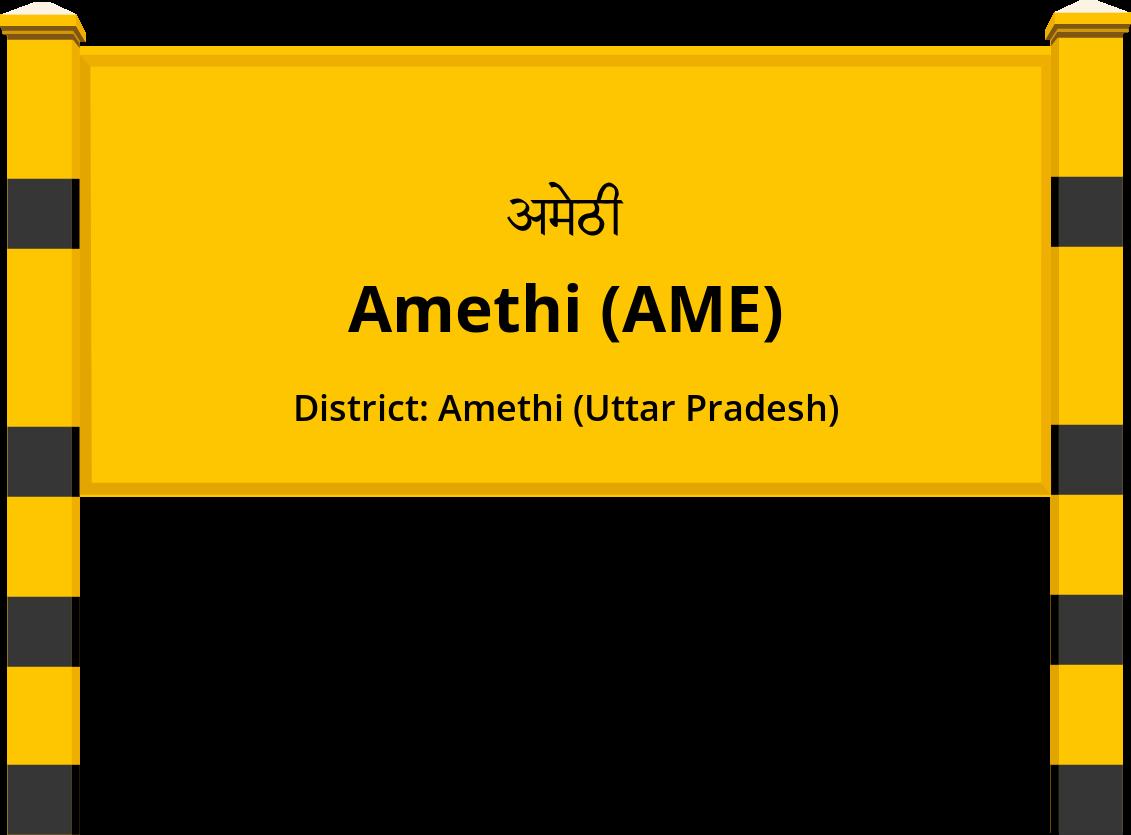 Amethi (AME) Railway Station
