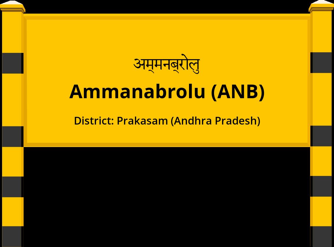 Ammanabrolu (ANB) Railway Station