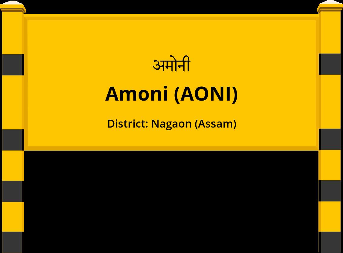 Amoni (AONI) Railway Station