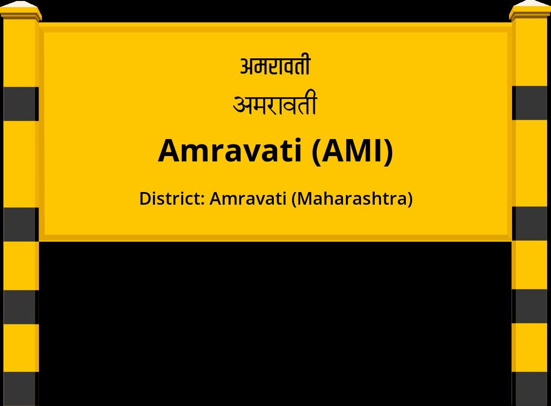 Amravati (AMI) Railway Station