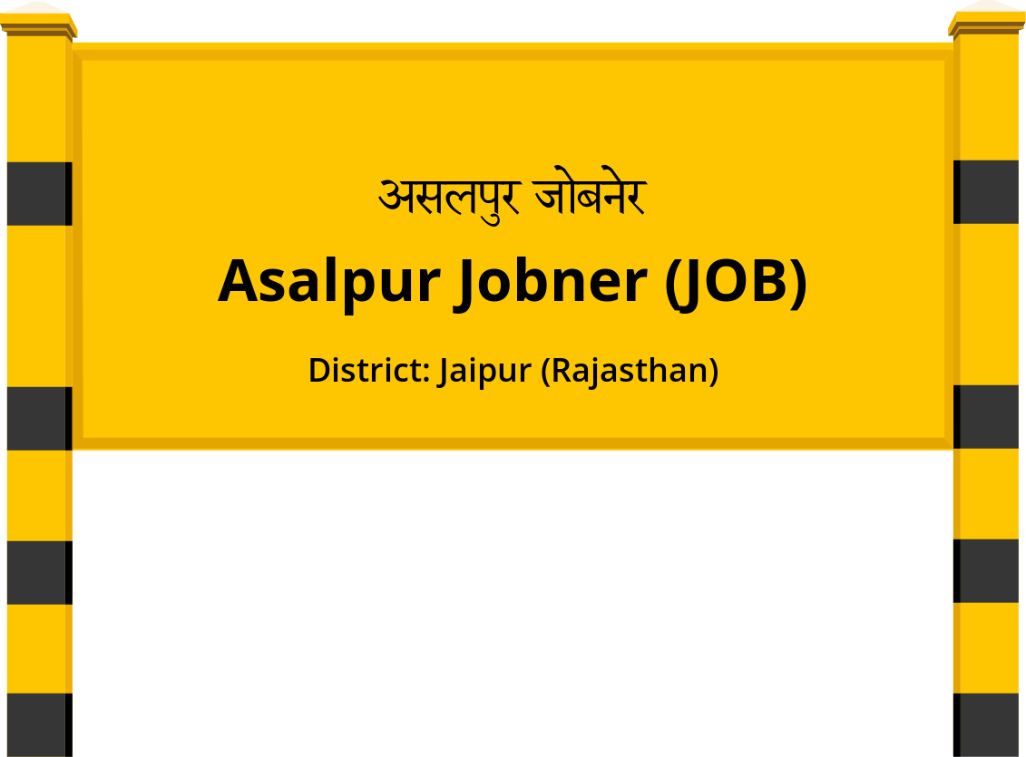 Asalpur Jobner (JOB) Railway Station