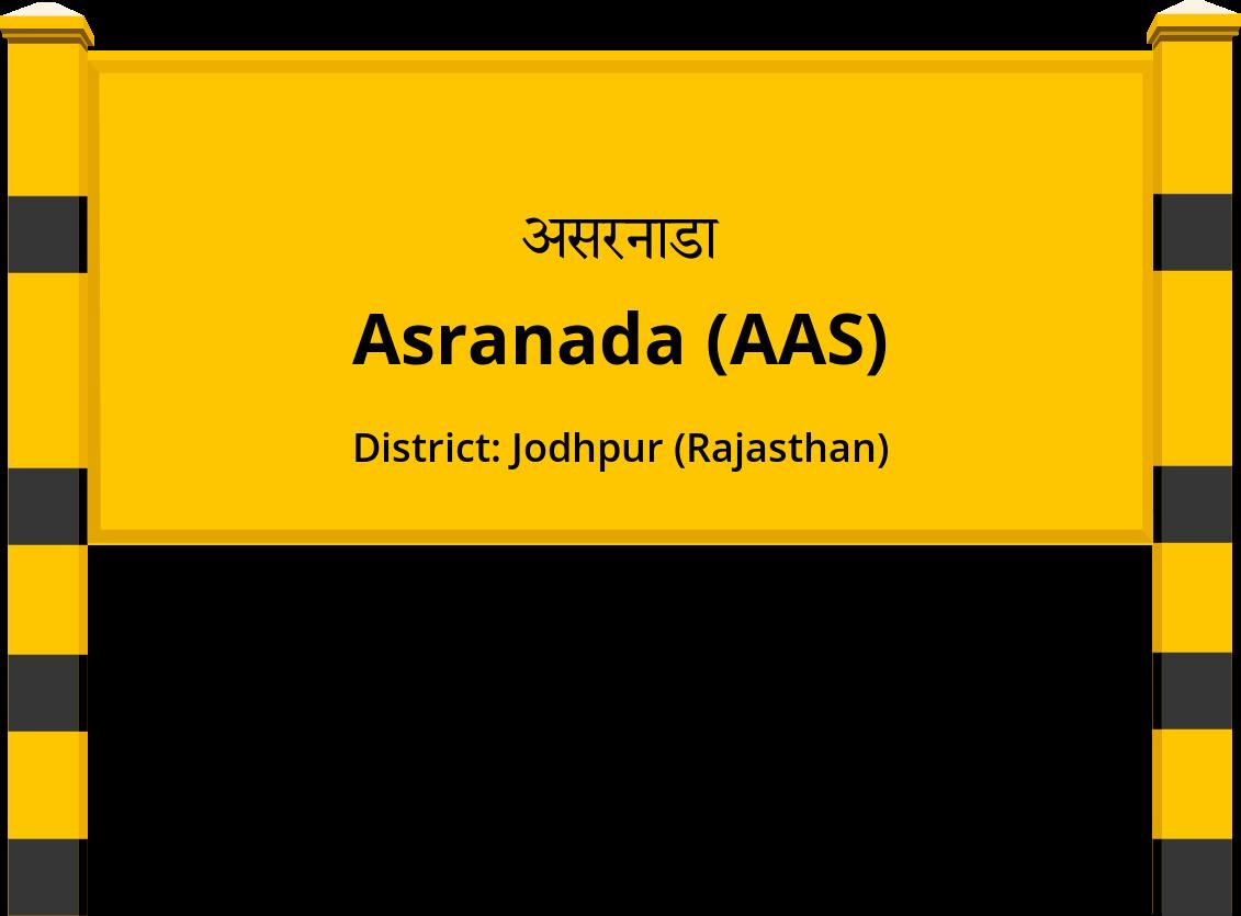 Asranada (AAS) Railway Station