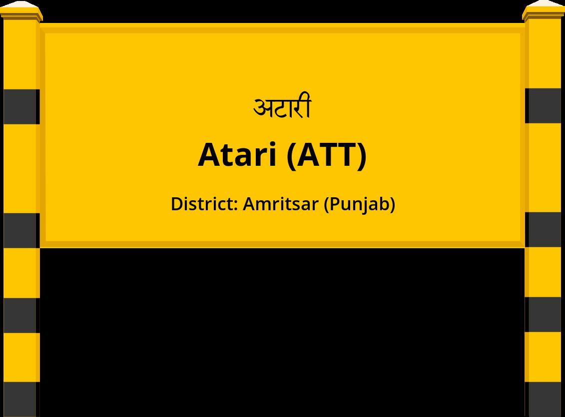 Atari (ATT) Railway Station