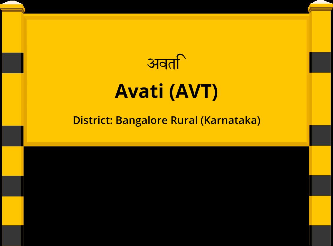 Avati (AVT) Railway Station