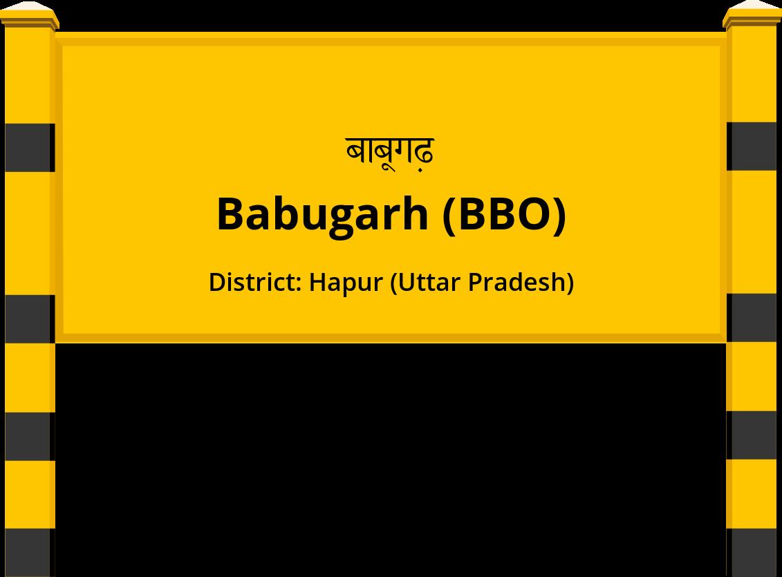 Babugarh (BBO) Railway Station