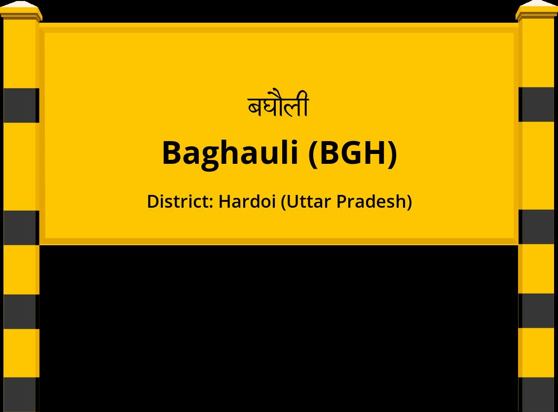 Baghauli (BGH) Railway Station