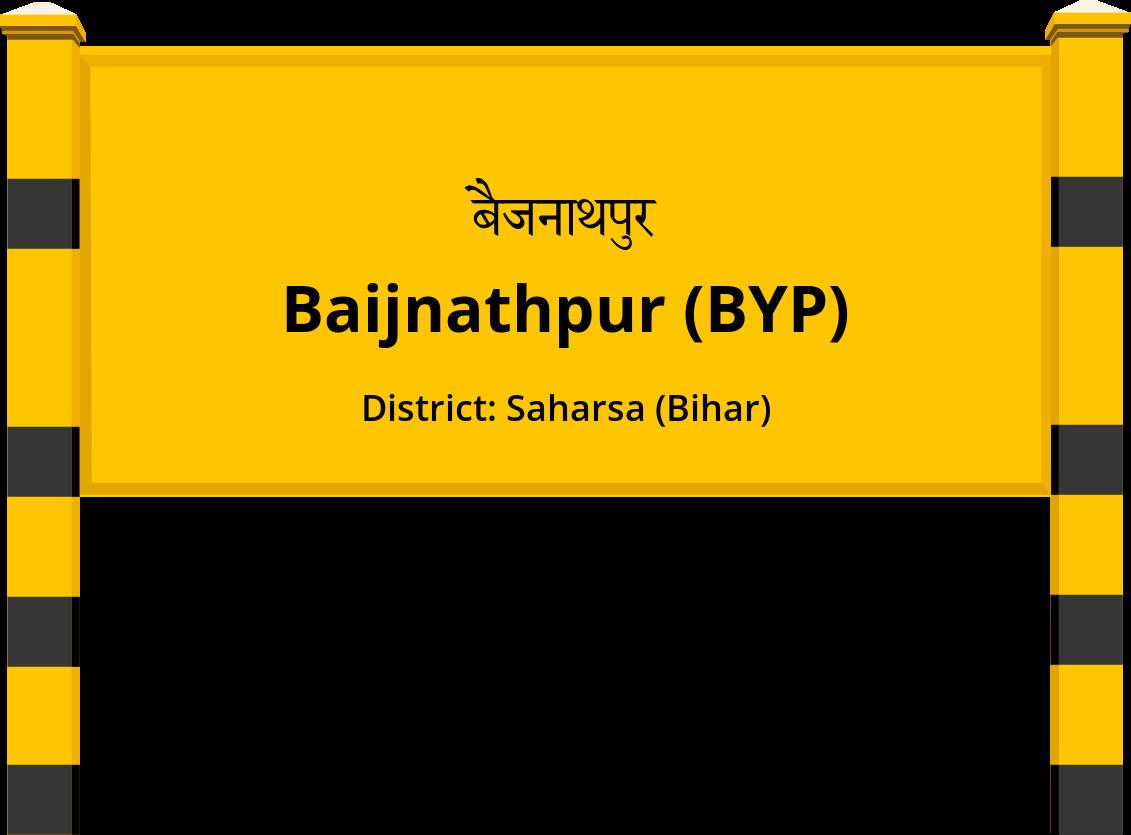 Baijnathpur (BYP) Railway Station