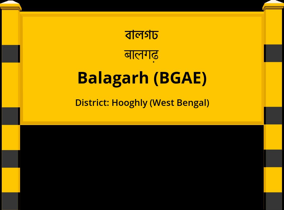 Balagarh (BGAE) Railway Station