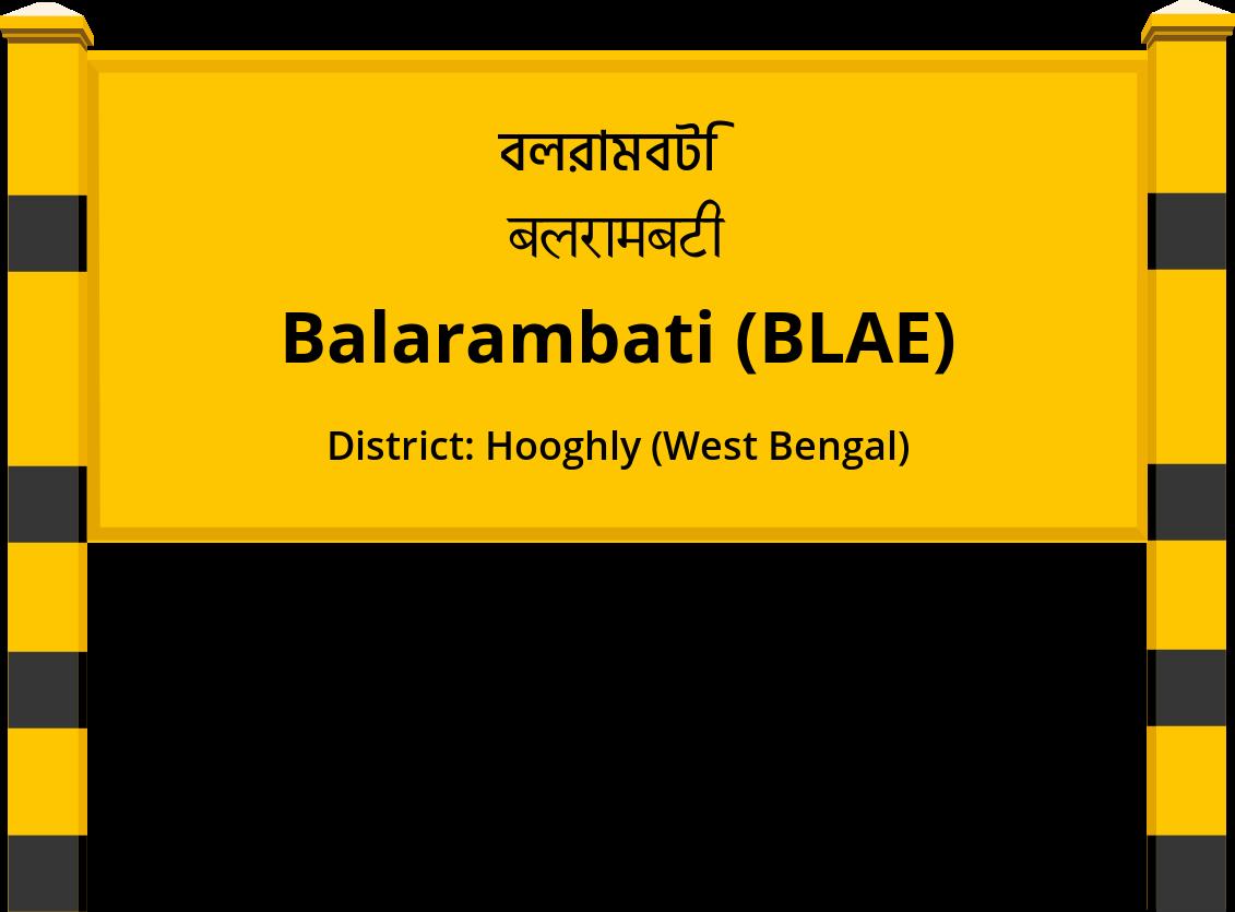 Balarambati (BLAE) Railway Station