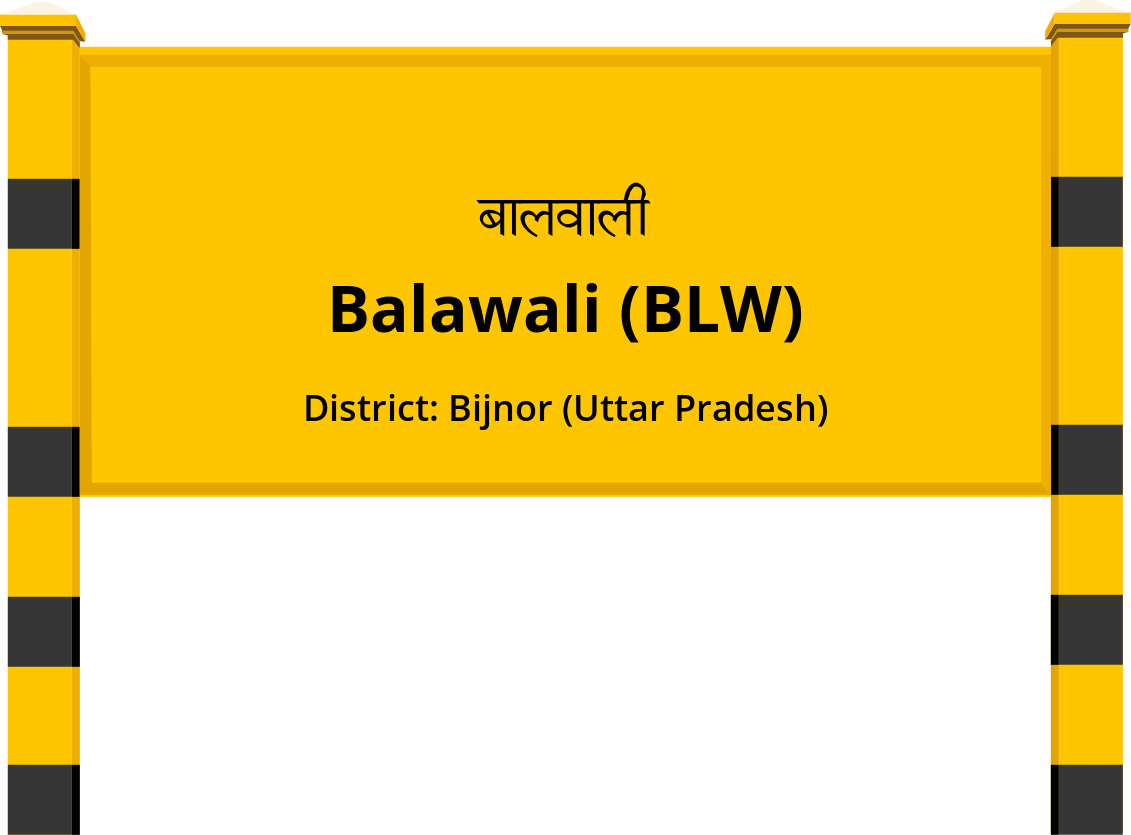 Balawali (BLW) Railway Station