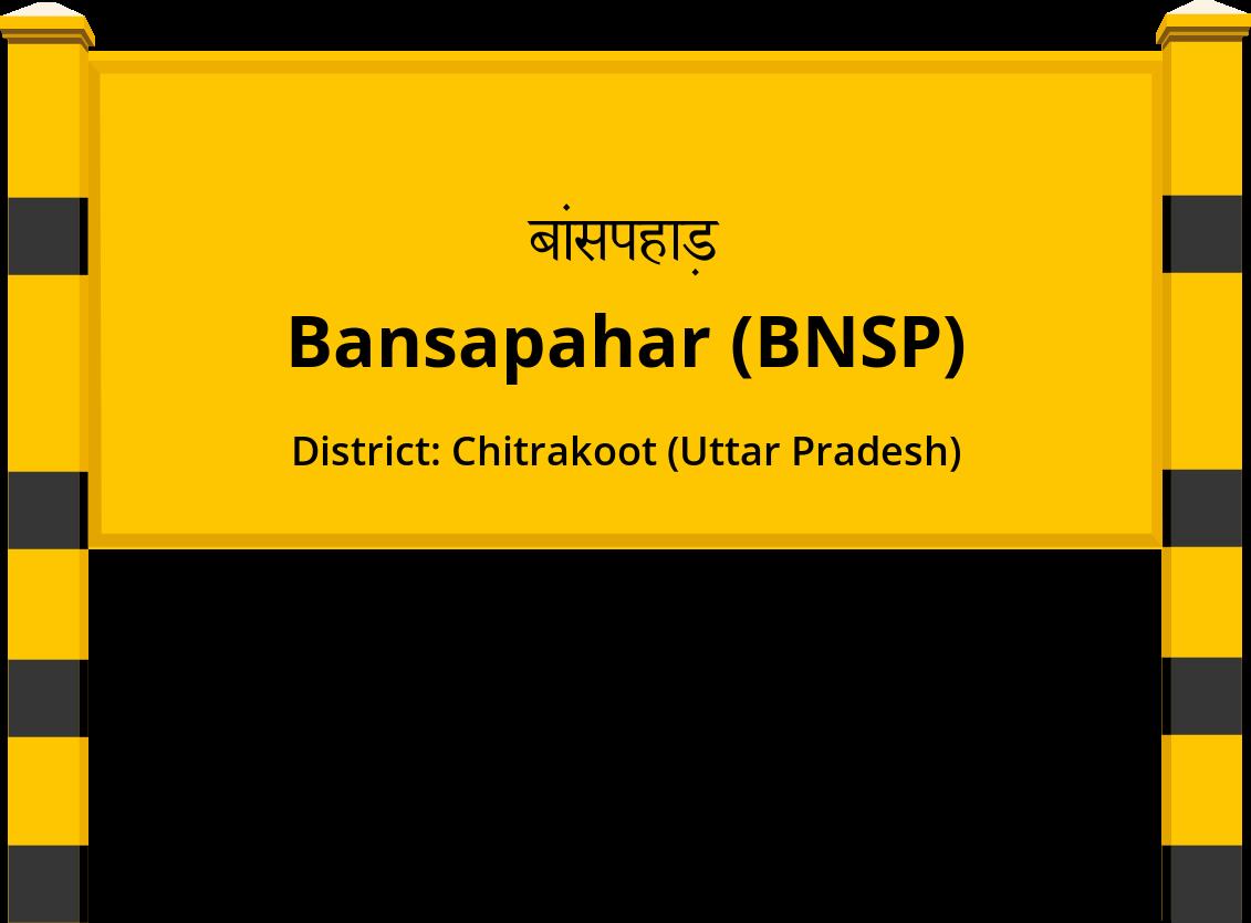 Bansapahar (BNSP) Railway Station