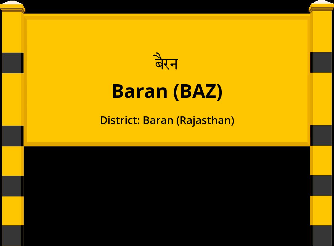 Baran (BAZ) Railway Station