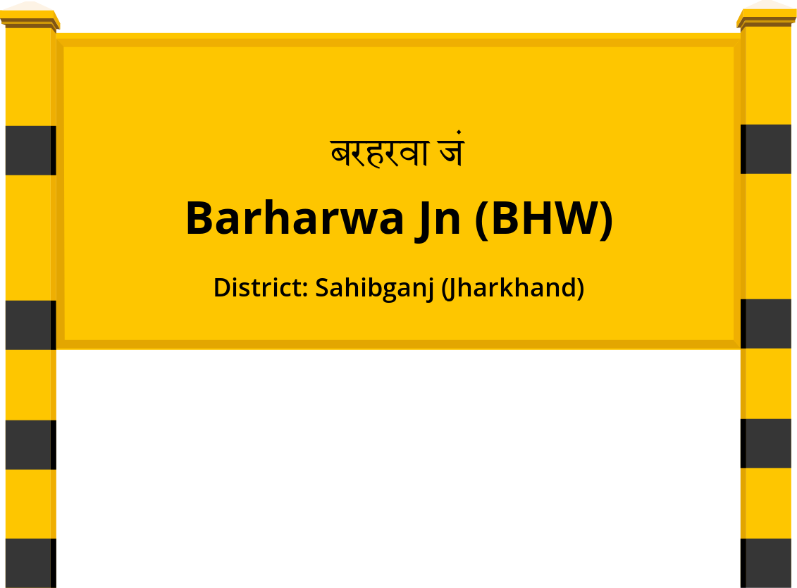 Barharwa Jn (BHW) Railway Station