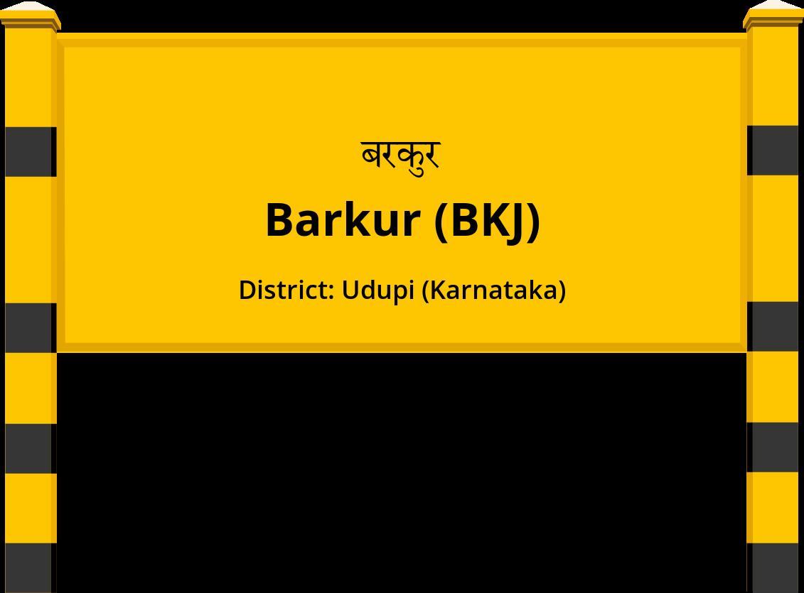 Barkur (BKJ) Railway Station