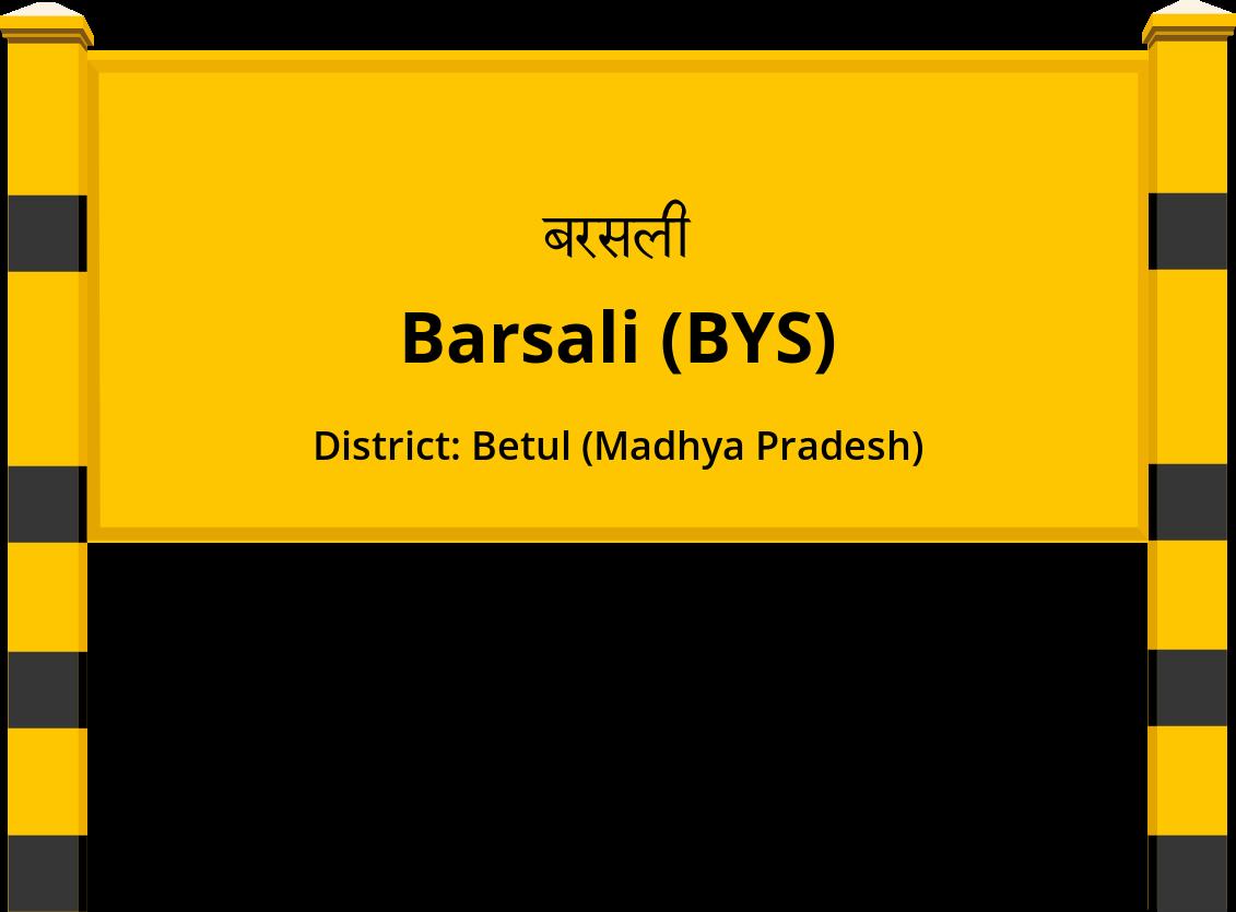 Barsali (BYS) Railway Station