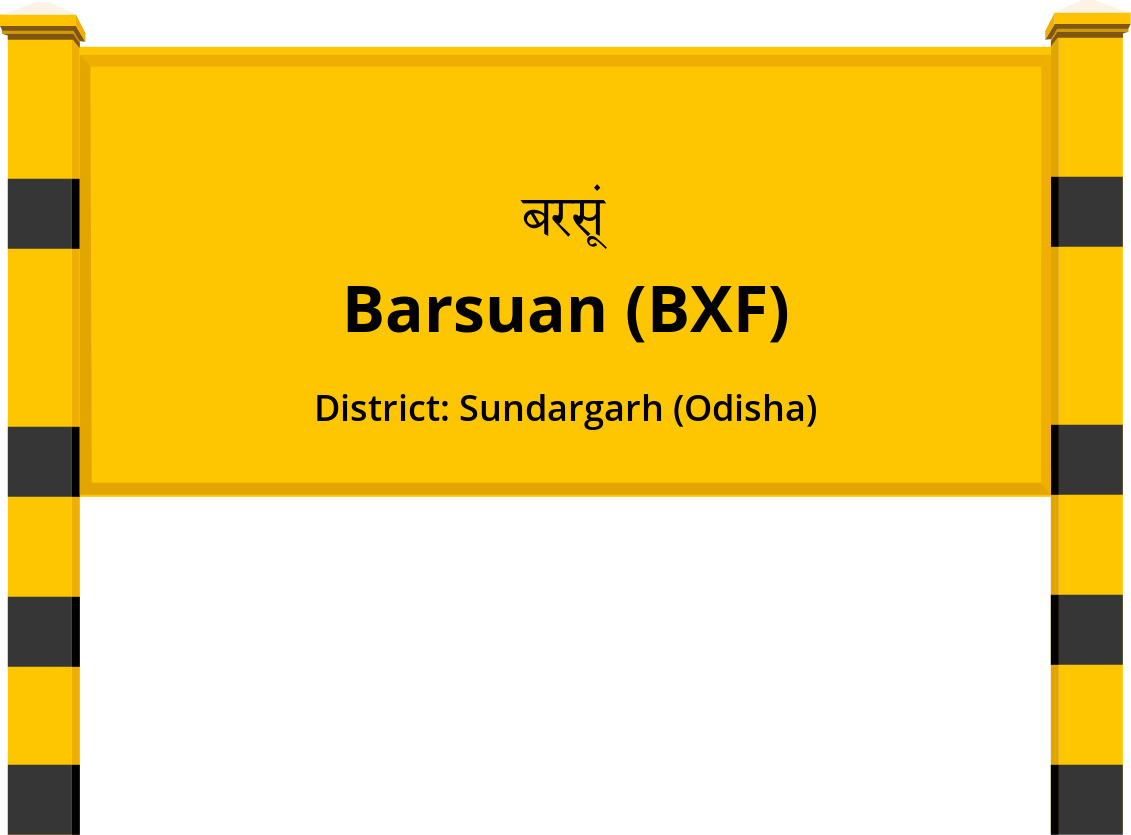 Barsuan (BXF) Railway Station