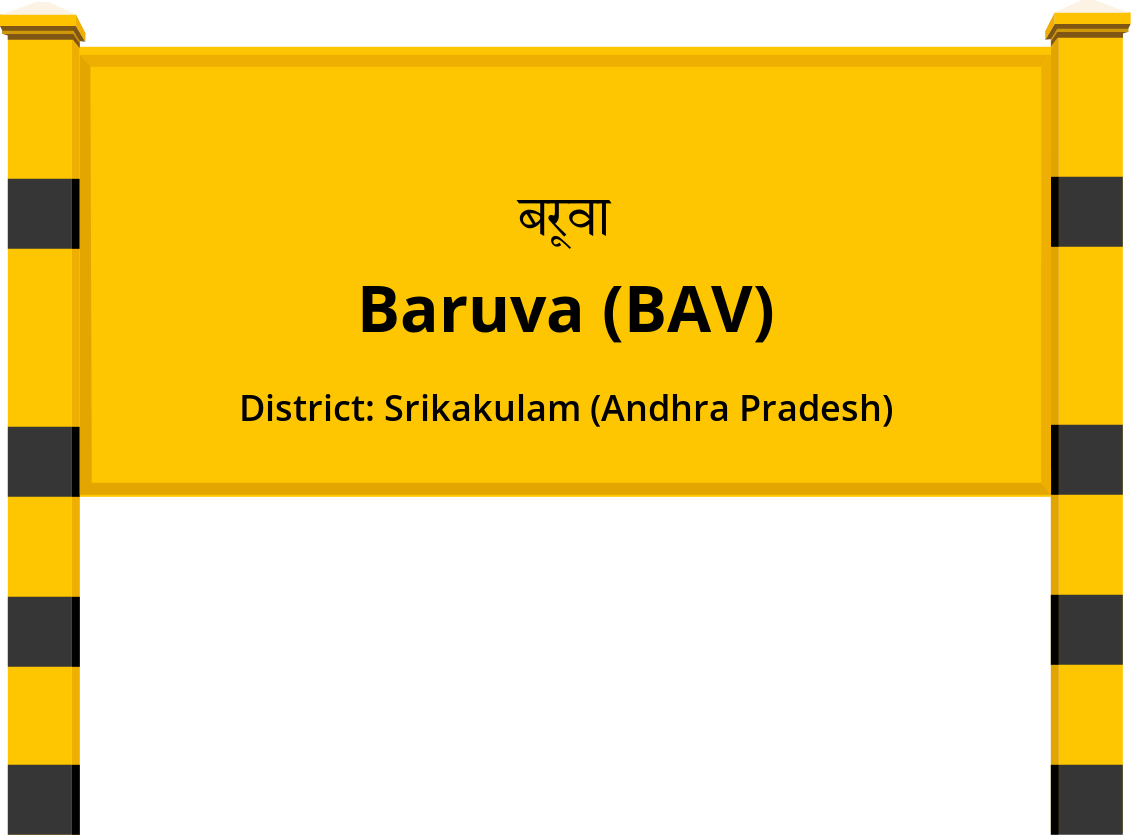 Baruva (BAV) Railway Station