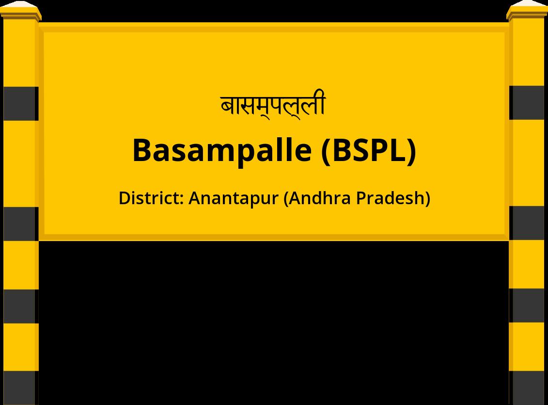 Basampalle (BSPL) Railway Station
