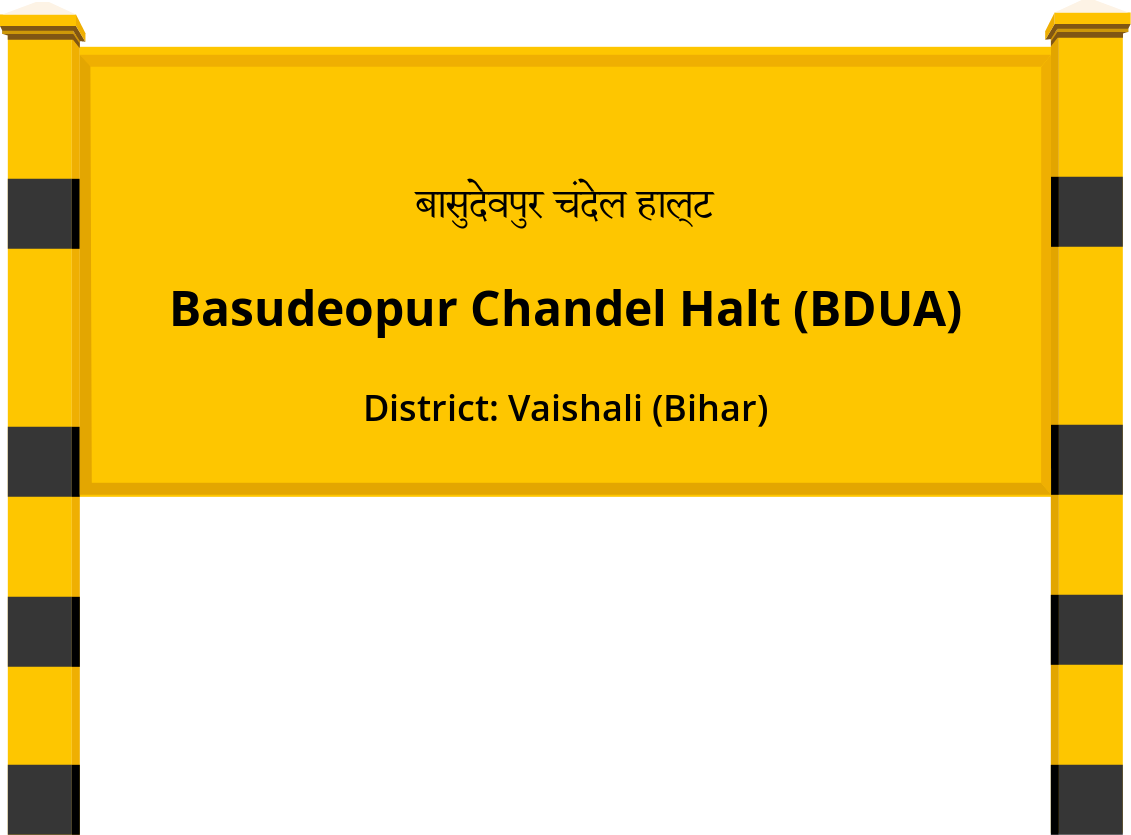 Basudeopur Chandel Halt (BDUA) Railway Station