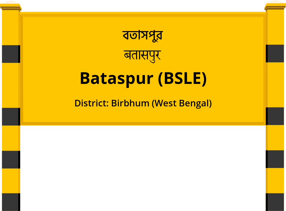 Bataspur (BSLE) Railway Station