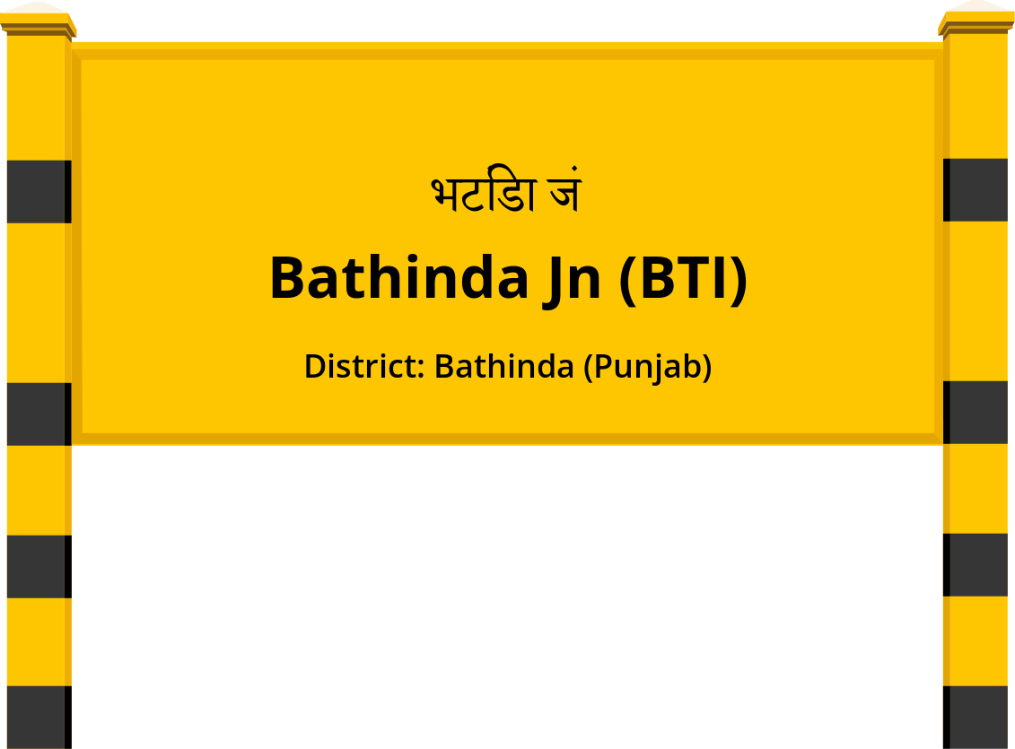 Bathinda Jn (BTI) Railway Station