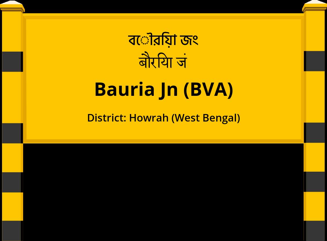 Bauria Jn (BVA) Railway Station