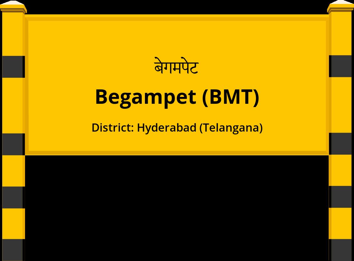 Begampet (BMT) Railway Station