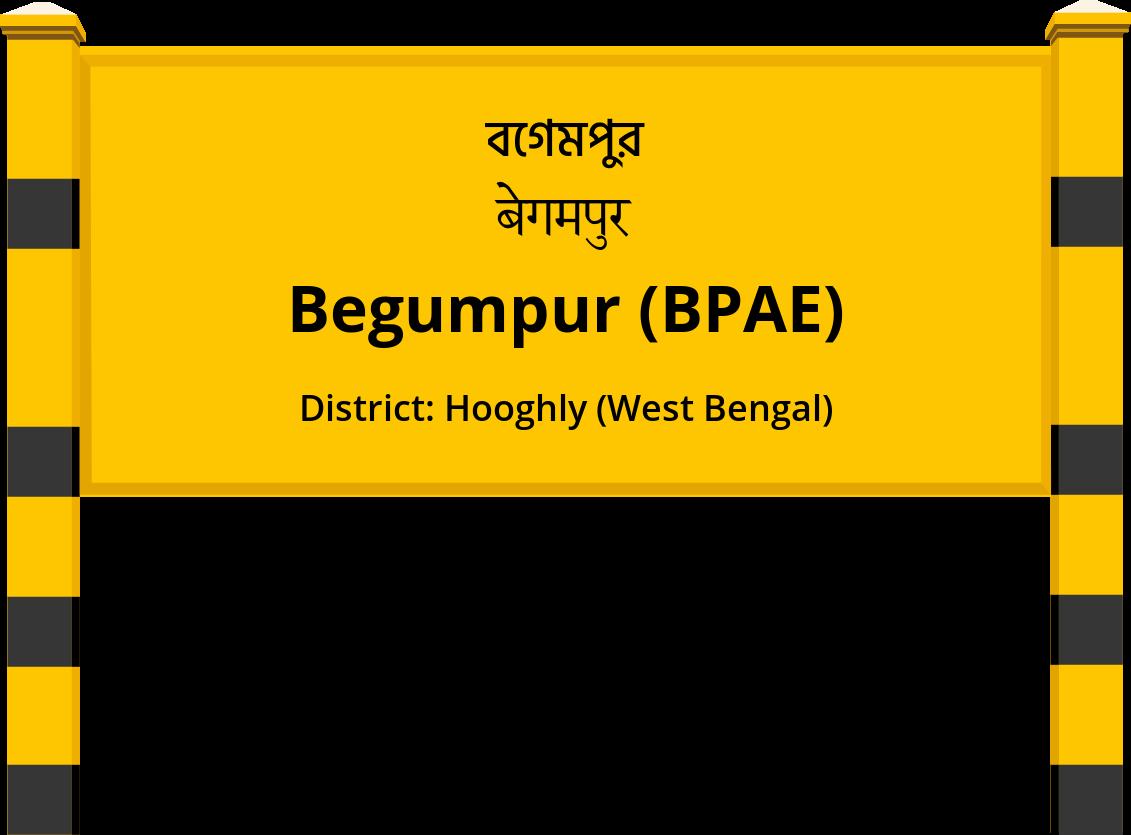 Begumpur (BPAE) Railway Station