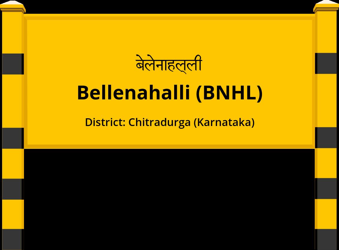 Bellenahalli (BNHL) Railway Station