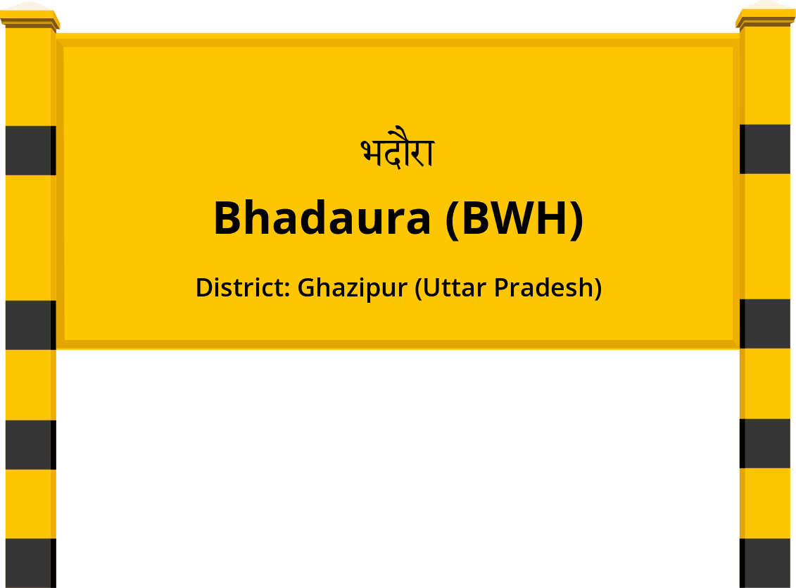 Bhadaura (BWH) Railway Station