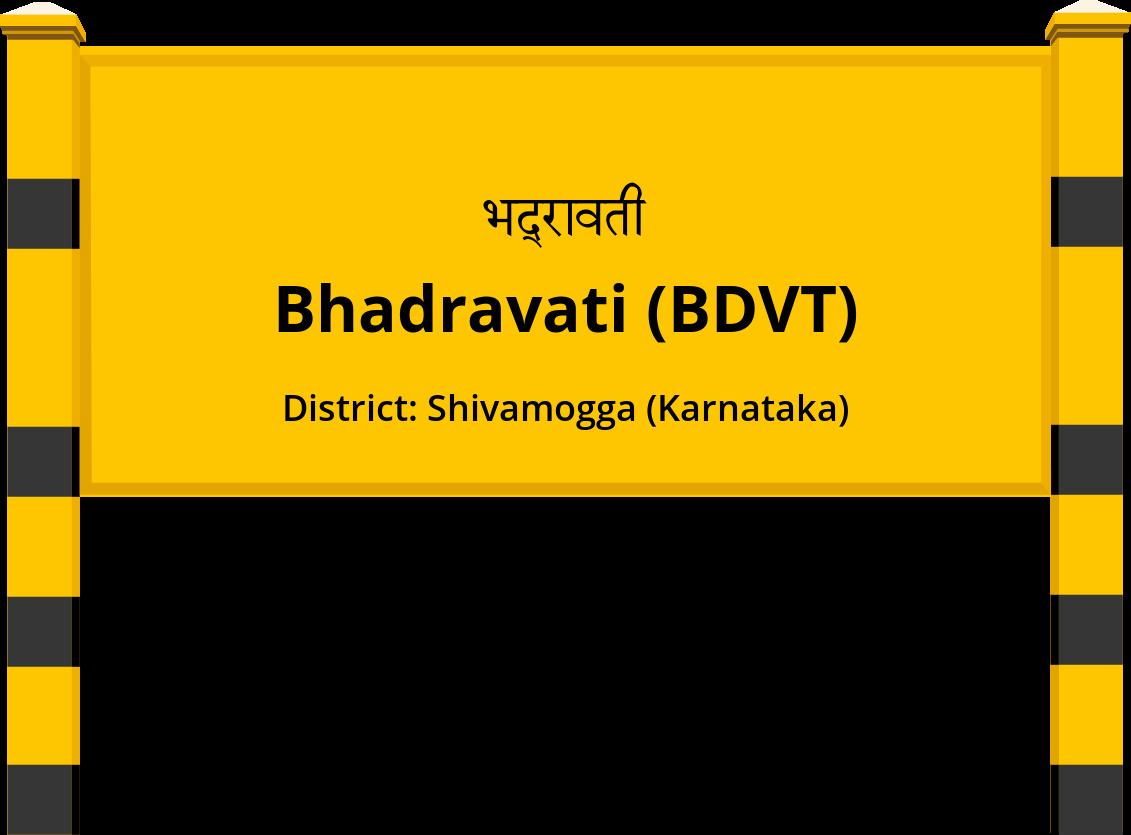 Bhadravati (BDVT) Railway Station