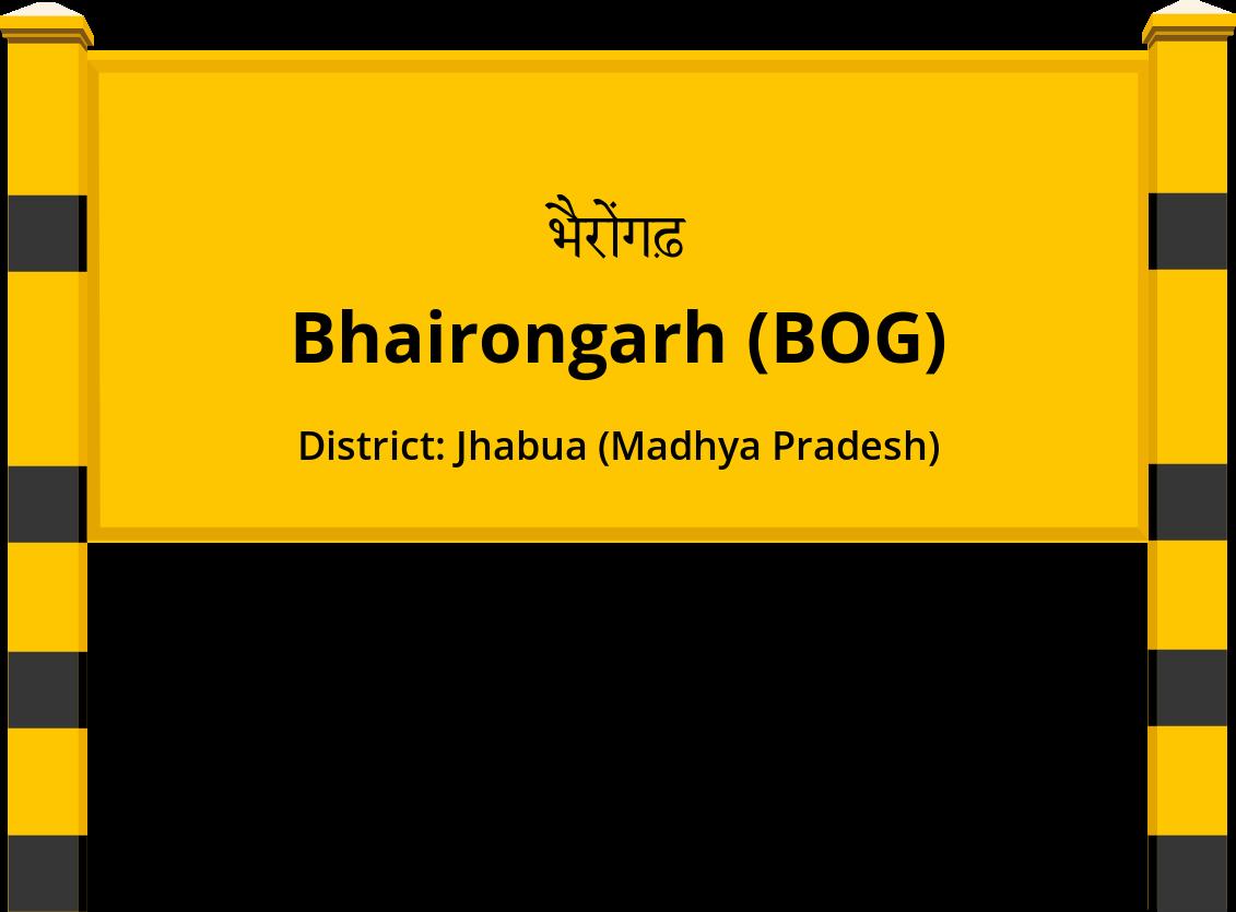 Bhairongarh (BOG) Railway Station