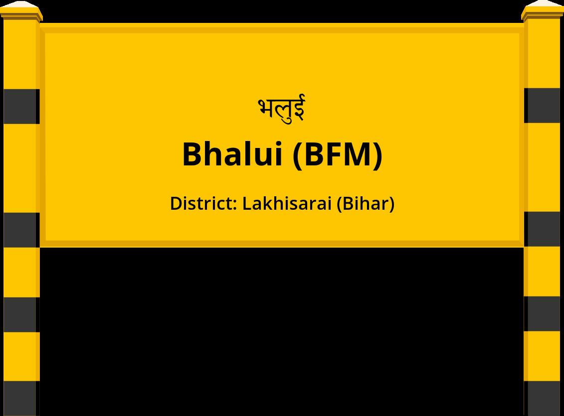 Bhalui (BFM) Railway Station