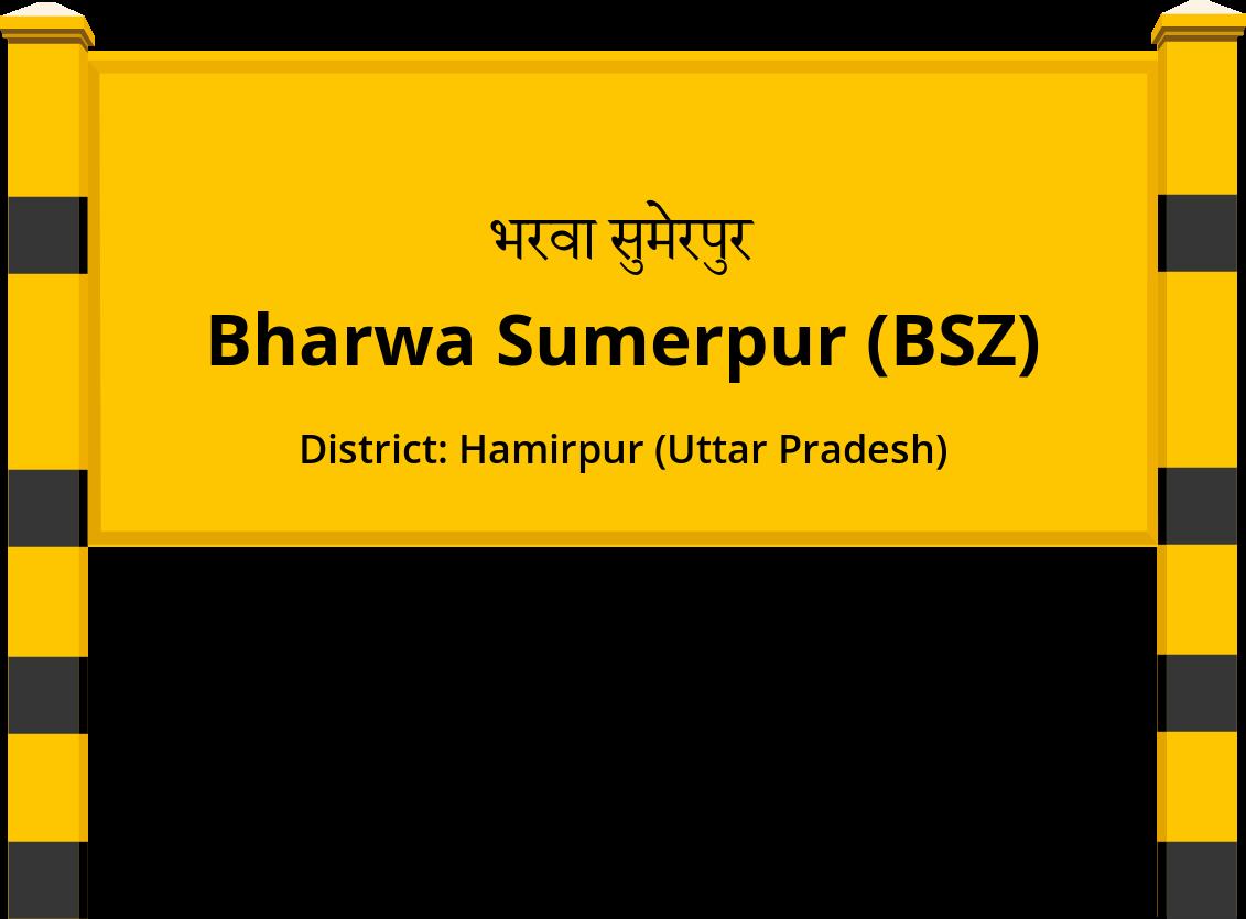 Bharwa Sumerpur (BSZ) Railway Station